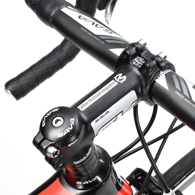 Asli X-Depan merek sepeda serat karbon jalan penuh 18 20 22 kecepatan - Bersepeda - Foto 5