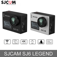 Оригинальный SJCAM SJ6 Легенда спорт экшин камера 2,0 Экран 4 К 24FPS 30 м Водонепроницаемый Сенсорный экран удаленного экшен спорт мини Камера + мно