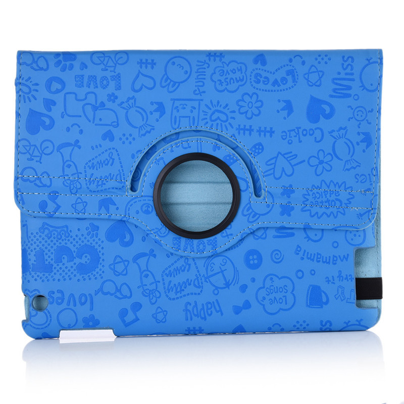 Protective Case  for iPad Mini 1 / 2 / 3 Little Witch Protective Cover 7.9 inch 360 Degree Rotating Leather Case with Standby