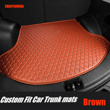 """Custom fit car trunk mats special for Audi A4 B5 B6 B7 B8 allraod Avant A3 A6 C6 C7 A7 A8 Q3 Q5 Q7 6D car styling carpet rugs ""(China)"