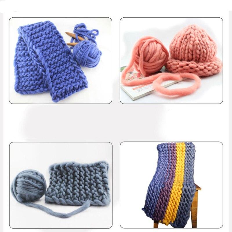 Smooth Cotton Natural Hand Knitting Wool Yarn Ball Baby Wool Craft