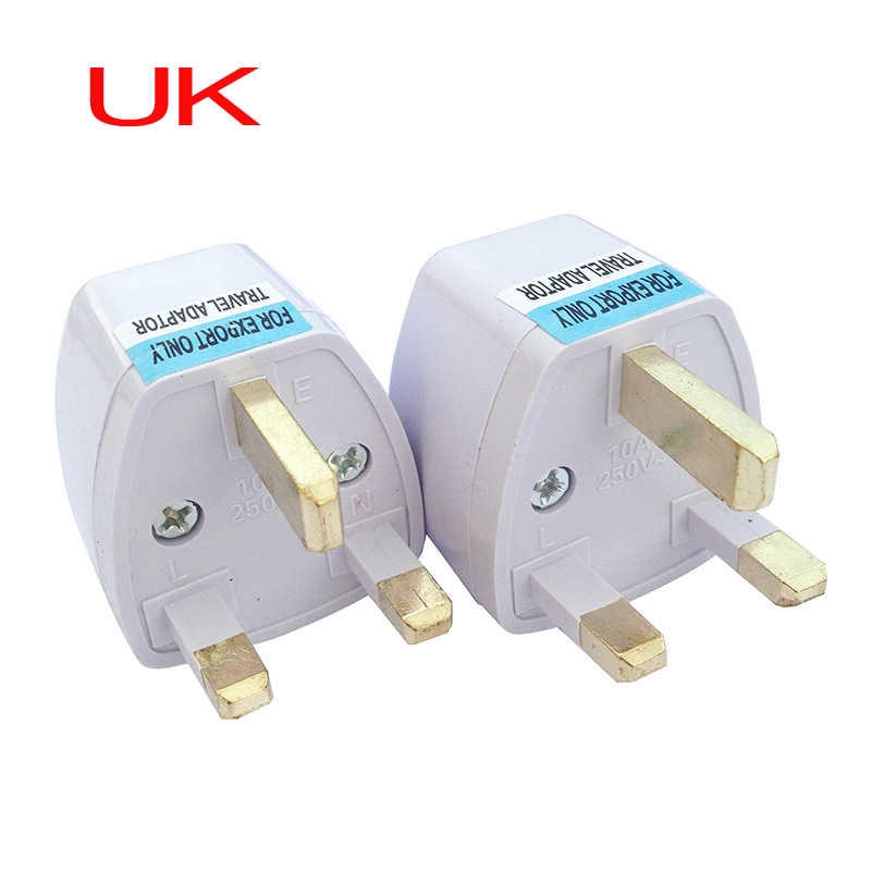 มาตรฐาน UK ปลั๊กแปลงโทรศัพท์มือถือ power adapter เหมาะสำหรับ UK HK Singapore Macau 3 Pin AC ปลั๊กอะแดปเตอร์ปลั๊กอะแดปเตอร์ตัวเชื่อมต่อ