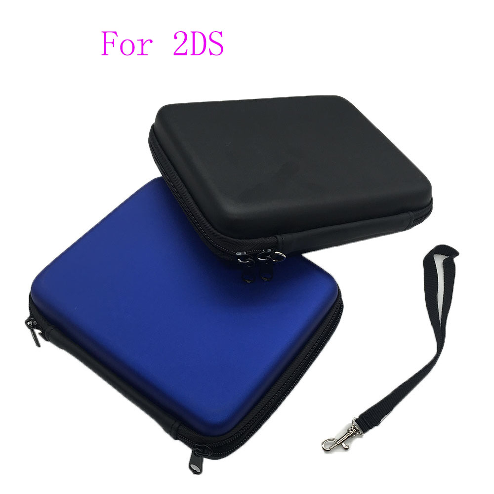 Hard Travel Carrying Case Bag Cover for Nintendo 2DS W/ Carry Strap