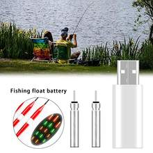 Rechargeable Fishing Float CR425 Battery LED Fishing Float Pin Cell Accessory Suit for Different Charger Devices(China)