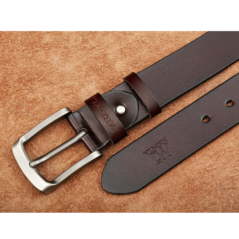 46cfc4b11bd AS  FR71244 Cuir italien Ceinture Homme Jeans haute qualite Casual ...