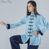 Tai chi uniform clothing taichi clothes women men wushu clothing kung fu uniform suit martial arts uniform exercise V1558