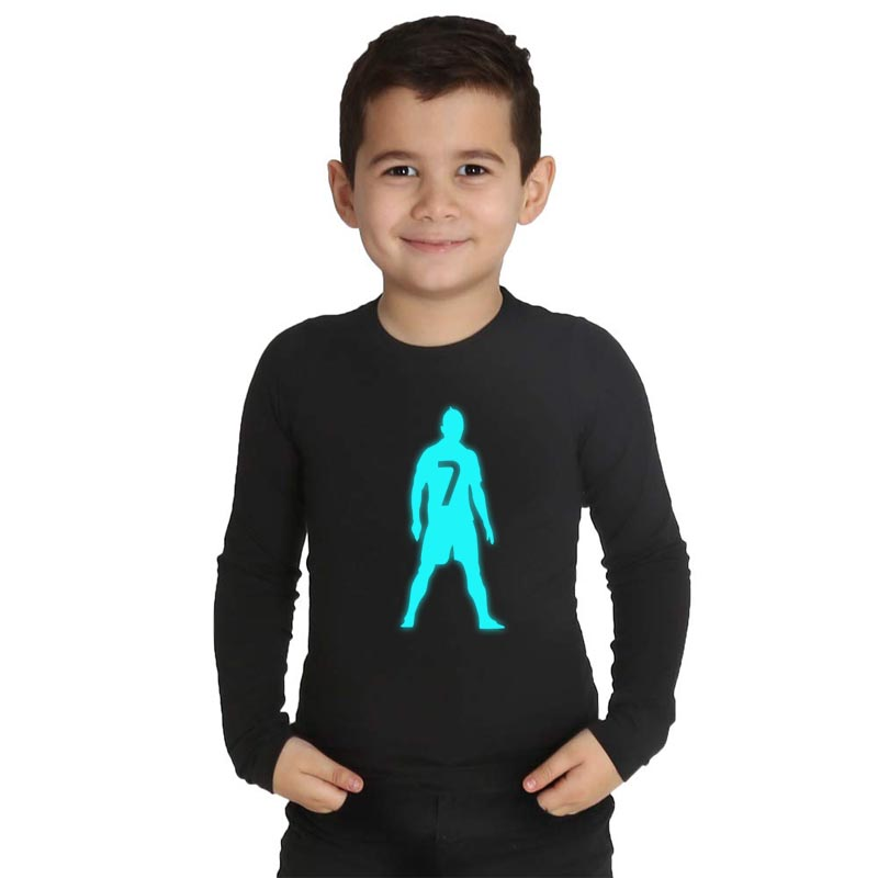 LYTLM Cristiano Ronaldo Tshirt Kinder T Shirt Jongens xxx Girls Boy Polera Manga Larga Big Girls Clothes Boys Long Sleeve Tops