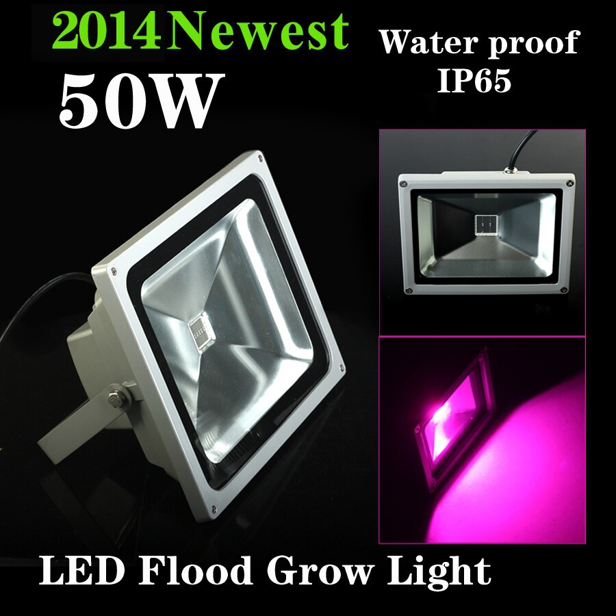 LOW PRICE 50W Blue 554nm Red 660nm Hydroponic Plant Flood LED Grow Lights Led Floodlight Super Bright 50w 25 led red