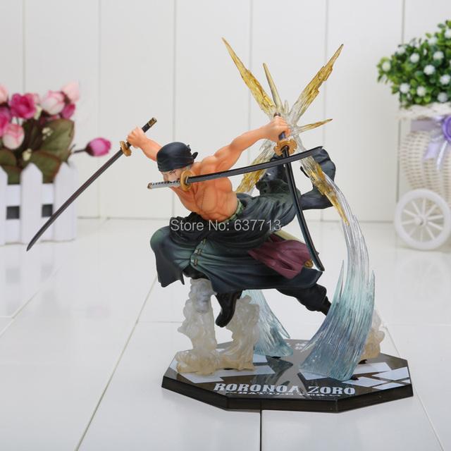 One Piece Roronoa Zoro Luffy Ace Boa Sanji Shanks Sabo PVC Action Figure