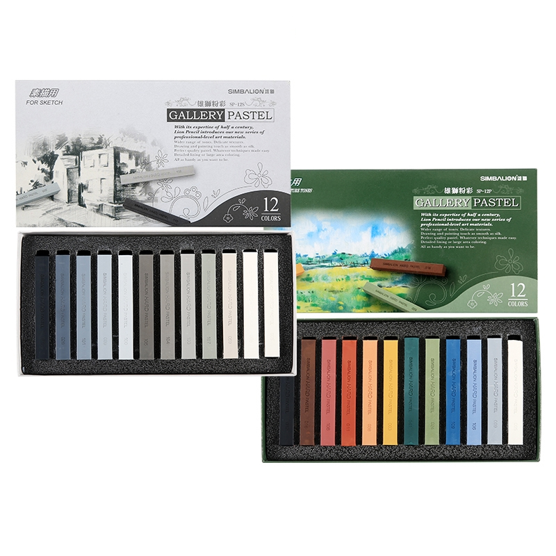 12 Colors Crayons Water Soluble Sketch Special Brush Gallery Pastel Long Color Pastel Chalk Art Drawing Supplies Stationery12 Colors Crayons Water Soluble Sketch Special Brush Gallery Pastel Long Color Pastel Chalk Art Drawing Supplies Stationery