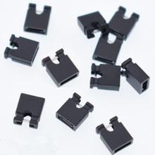 200 pcs Mini Micro ponticello per 2.54 millimetri di Intestazione (shunt) Blocco Corto Circuito Ponticello