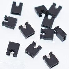 200 stücke Mini Micro Jumper kappe für 2,54mm Header (shunts) Kurzschluss Block Jumper