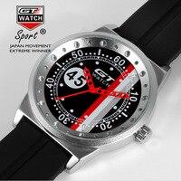GT marca moda deporte reloj hombres reloj F1 relojes hombres reloj hombres Erkek Kol saati Relogio Masculino reloj hombre