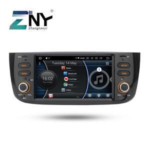 Image 1 - Android 8.1 Car Audio Video Per La Fiat grande punto Linea 2012 2013 2014 2015 Radio FM RDS WiFi di Navigazione GPS telecamera posteriore No DVD