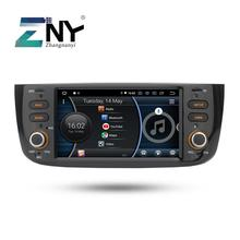Android 8.1 de Áudio e Vídeo Do Carro Para Fiat Grande Punto Linea 2012 2013 2014 2015 de Rádio FM RDS Navegação GPS Wi fi câmera traseira No DVD