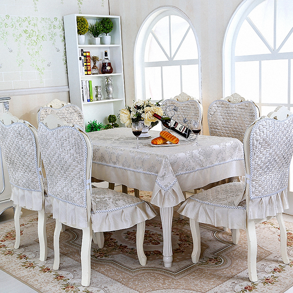 A High Cost Quilted Dining Table Cloth Thick Chair Covers Cushion - Restaurant table cost