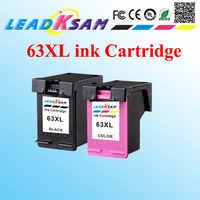 Cartucho de tinta 63XL, refabricado para 63 XL, compatible con impresora hp63 Officejet 3830 4650 4652 4652 ENVY 4516 4512 4520 4522