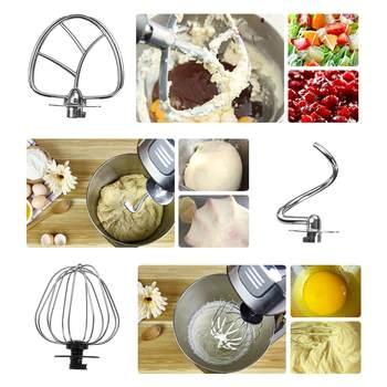Nouveau Stand Mélangeur 6 Vitesses Multifonctionnel électrique Alimentaire-mélangeur Mélangeur 1000W Hachoir à Viande Robot Culinaire Pâte Batteur Outils De Cuisine