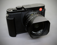 Milicase Handmade Genuine Leather Camera case Half Bag Body For Leica Q2 q2