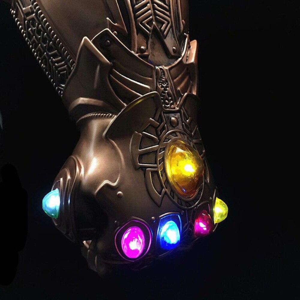 Avengers-Infinity-War-Thanos-Infinity-Gauntlet-LED-Light-PVC-Gloves-for-Halloween-Props