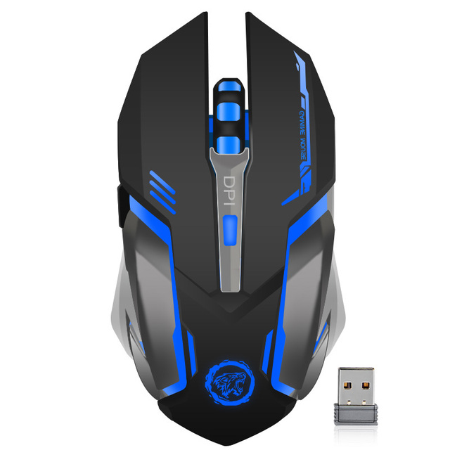 Rechargeable Wireless Gaming Mouse 7 color Backlight 3