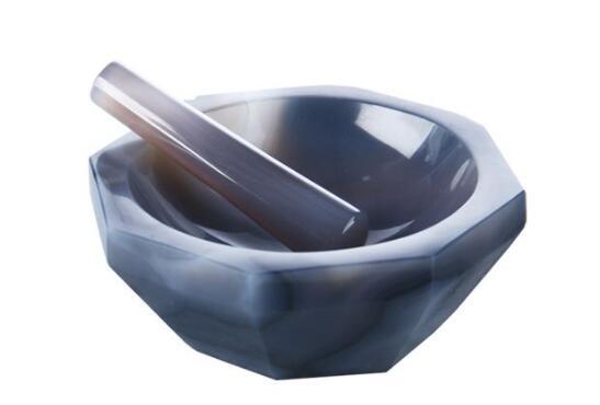 ID: 100 ミリメートル、高品質の天然瑪瑙乳鉢と乳棒ラボ研削  グループ上の ツール からの 工具部品 の中 1