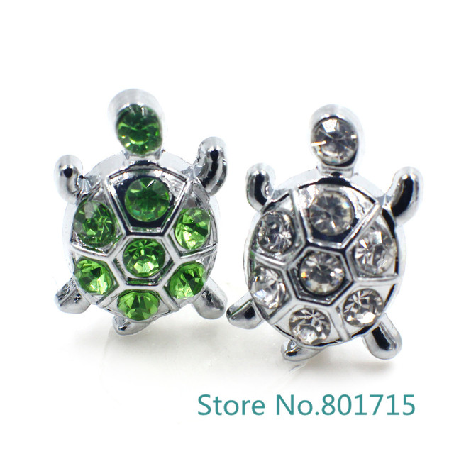 10pcs 8mm Sea turtle Slide Charms Internal Dia.8mm band Fit Pet Collars  Wristbands Belts key chain DIY accessory ca3395906438
