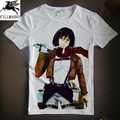 T shirt men Japan Anime Attack on Titan Cosplay clothes men t-shirts cotton tops tees white short sleeve casual homme tshirt