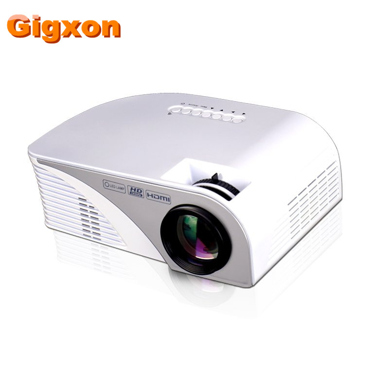 Gigxon – G8005B Newest portable mini led projector native 800*480 50W full HD 3D 1080p digital video