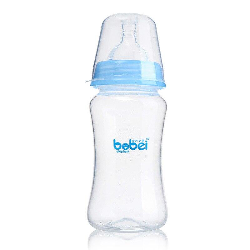 Bobei Éléphant Bébé Large bouche Arc Lait Biberon 150 ml/240 ml Solide Multi-couleur Inodore Et Coffre-Fort santé