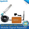 Para EE.UU./México/Canadá 9 Unidad Yagi Antena AWS AWS 1700 mhz Amplificador de Señal de Teléfono Celular Repetidor Móvil 4g de la Señal Del Repetidor Del Amplificador