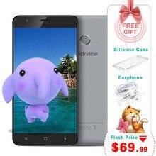 5.5 inch Blackview E7S Smartphone MT6580 Quad Core 2GB 16GB 1280×720 Mobile Phone Android 6.0 Fingerprint 8.0MP Unlocked Phone