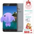 5.5 pulgadas blackview e7s mt6580 smartphone quad core 2 gb 16 gb 1280x720 android 6.0 del teléfono móvil de huellas digitales 8.0mp desbloqueado teléfono