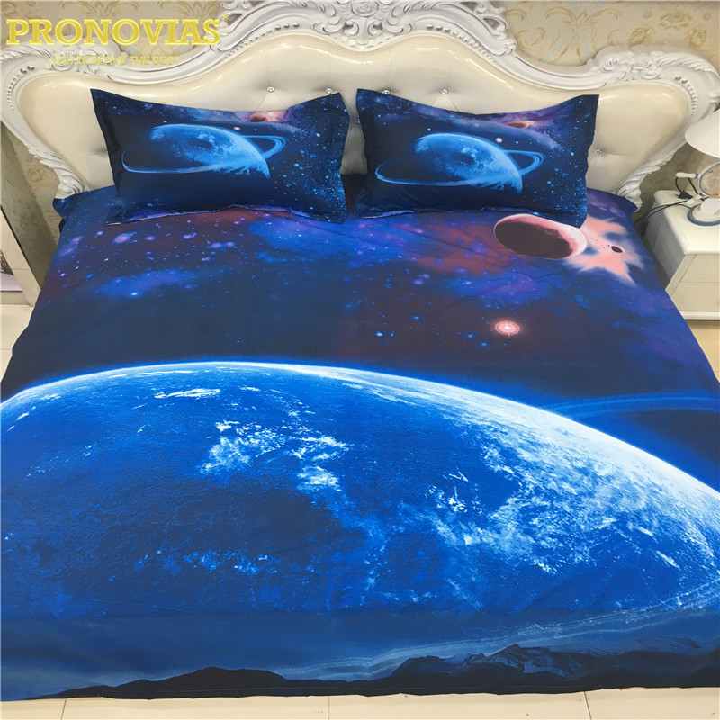amazing 3d blue earth boutique Bedding Set Duvet Cover Bed Sheet Pillow Cases 3/4PCS,queen/single xl,drop shipping