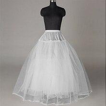 Новое поступление Свадебная Нижняя юбка для невесты из 3 слоев, Нижняя юбка для бальное платье из тюля Hoopless пушистый кринолиновая юбка свадебные аксессуары