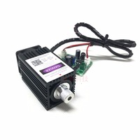 Q BAIHE 500mw 405nm Focusable Blue Purple Laser Module Engrave With TTL Control Laser Diode Protective