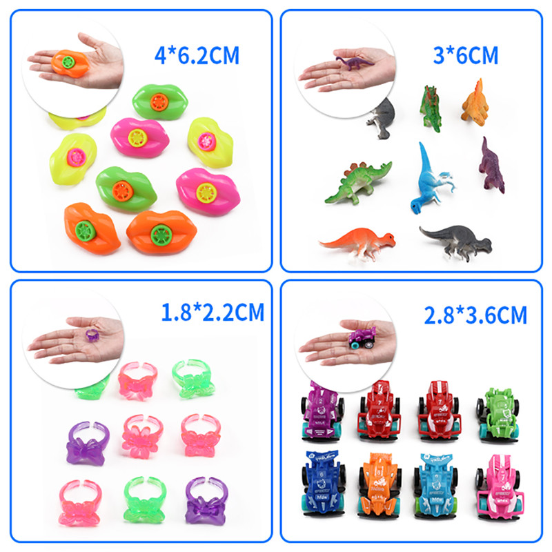 Image 3 - 120Pcs Kids Birthday Party Favors Pinata Filler Assorted Gift Toys Set Treasure Box Prizes Novelty Toys for Kids Birthday-in Gags & Practical Jokes from Toys & Hobbies