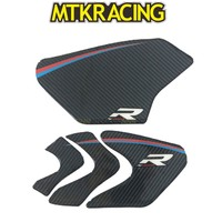 MTKRACING New 2017 Carbon Tank Pad Protection Sticker for BMW S1000RR HP4 Universal
