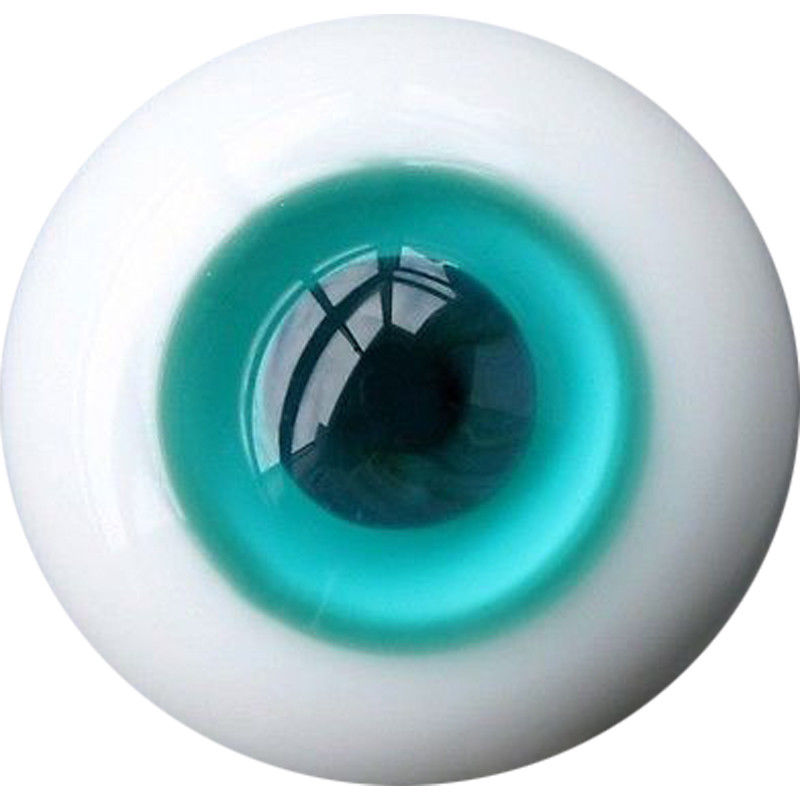 [wamami] 10mm Turquoise And Steel Blue For BJD Doll Dollfie Glass Eye Equipment