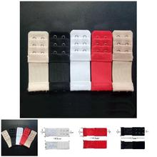 2019 Newly Droppshiping Women Bra Extender 3 Rows 2 Hooks Elastic Adjustable Lengthen Clasp for Underwear BFJ55