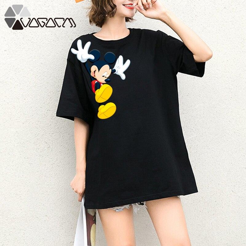a87a5e424e7ba All kinds of cheap motor tee shirt femme mickey in All A