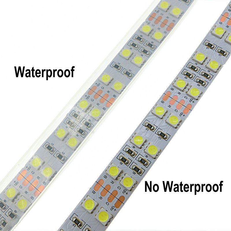 LED Strip 5050 120 LEDs m DC12V Silicone Tube Waterproof Flexible LED Light Double Row 5050 LED Strip 5m lot in LED Strips from Lights Lighting