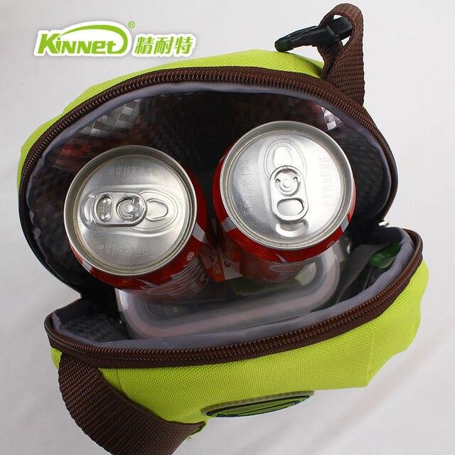 Сумка-ланч KinNet для девочек, 5,2л, с пищевой упаковкой, из алюминиевой фольги, портативная Термосумка-холодильник