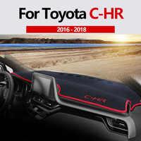 For Toyota C-HR CHR 2016 2017 2018 Car Dashboard Cover Mat Auto Sun Shade Cushion Pad Interior Protector Carpet Trim Accessories