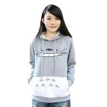 Hot Sale Autumn Fashion Men Women Cartoon Totoro Hoodie Sweatshirt