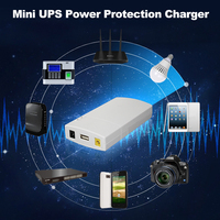 GM322 Mini UPS Power Protection Charger 7800MAH DC Power Bank Portable Power For 12V 2A Applications