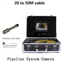 Hot sales Camera industrial Swer Pipeline endoscope Inspection Camera system CCTV DVR recorder pipe surveillance HD