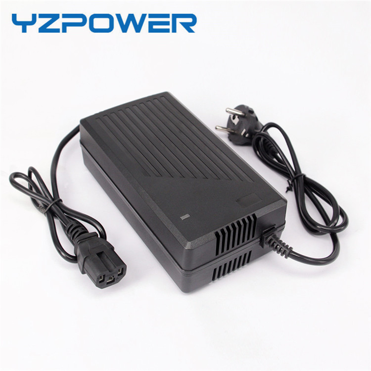 YZPOWER Auto Stop 47.45V 3.5A 4A 4.5A 5A LifePO4 Battery Charger For 13S 3.65V / 3.7V Life po4 Battery Pack