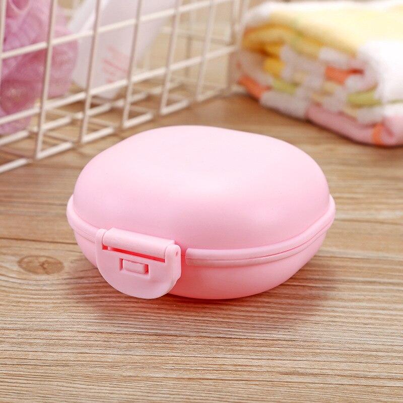 1 шт., чехол для посуды для ванной комнаты, для домашнего душа, путешествий, туризма, держатель, контейнер, мыльница с крышкой, zeepbakje porte savon, держатель для мыла - Цвет: D