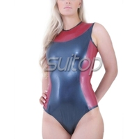 Fascinating Latex Leotard 100 Natural Handmade Latex Body Stocking With Gloves